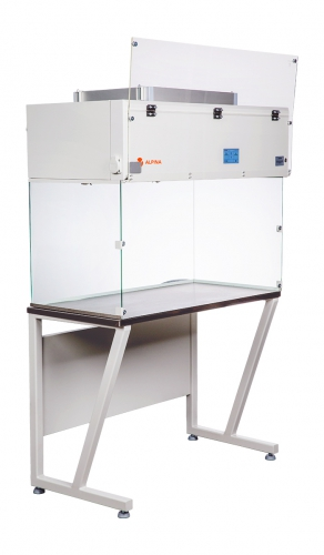 Fume Hood D1000 table - slant