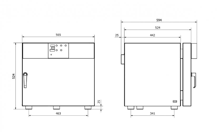 Model dimensions 40
