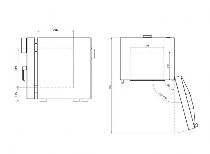 Model interior dimensions 40