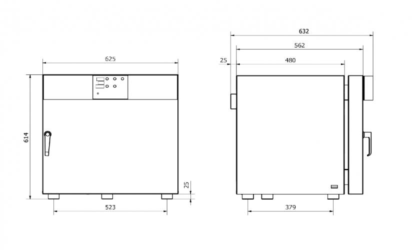 Model dimensions 53