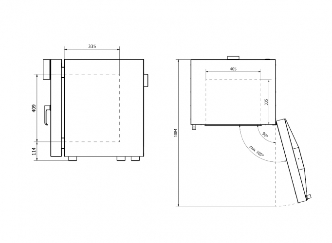 Model interior dimensions 53